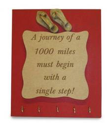 Buy Journey of 1000 Miles Key Holder wall-decal online