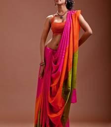 Buy Aavaranaa Multicolourcrepe sarees crepe-saree online