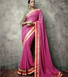 Buy Vishal Rani Black Saree Iifanazakat33514 party-wear-saree online