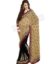 Buy Partyware stylis half half chiffone saree chiffon-saree online