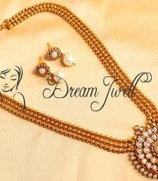 Buy BEAUTIFUL PEARL MULTILAYER SHORT HAAR SET necklace-set online