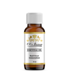 Buy Rks Aroma Basil (Sweet) Essential Oil - 100% Pure & Natural, 10 ml essential-oil online