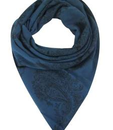 Buy BLUE PRINTED STOLE BY ELABORE stole-and-dupatta online