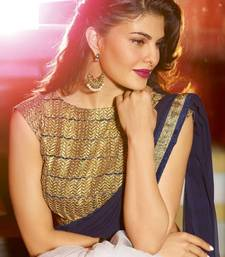 Buy Jacqueline indian traditional bollywood saree, designer saree, party wear saree, facny saree. other-actress-saree online