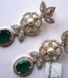 Buy Vatika AD Earrings -DSC04722 danglers-drop online