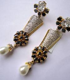 Buy Vatika AD Earrings -DSC04715 danglers-drop online