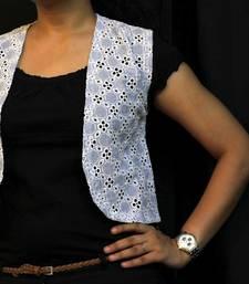 Buy Striped Blue Vest top online