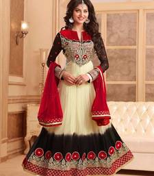 Buy Shaded designer anarkali style attire pakistani-salwar-kameez online
