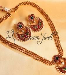 Buy GORGEOUS KEMP ANTIQUE MULTILAYER BALI SHORT HAAR SET necklace-set online