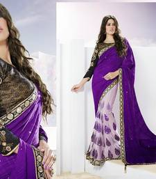 Buy Women's Ethnic Wear - SAREES designer-embroidered-saree online