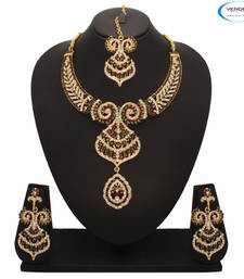 Buy Vendee Fashion Trendy Necklace Jewelry (7260) necklace-set online