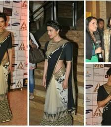 Buy priyanka chopra designer saree priyanka-chopra-saree online
