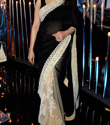Buy MADHURI BLACKBARRY SAREE madhuri-dixit-saree online