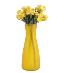 Buy Glowing yellow decorative artificial flowers artificial-flower online
