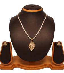 Buy Vendee Fashion Pearl Pendant Set 8132 Pendant online