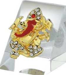 Buy Om Ganesha Car Stand LM2037 ganesh-chaturthi-gift online