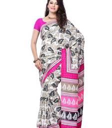 Buy PARTY WEAR FANCY SAREE art-silk-saree online