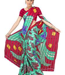 Buy Owsome Printed satin patti printed-saree online