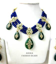 Buy Peacock theme necklace set  Necklace online