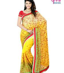 Buy BOLLYWOOD PARTY WEAR DESIGNER SAREE net-saree online