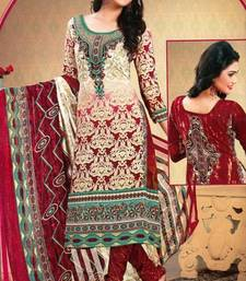 Buy Dress Material Crepe Unstitched Elegant Salwar Kameez Suit D.No.MC116 dress-material online