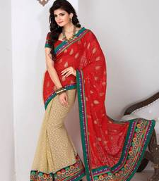 Buy Saraswati bright party wear saree art-silk-saree online