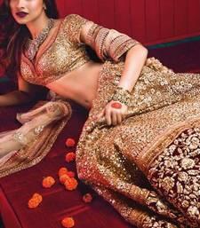 Buy Bollywood Deepika Padukone Maroon Wedding Lehenga bridal-lehenga online