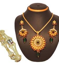 Buy Vendee Fashion Stylish fashion combo jewelry (1394) Pendant online