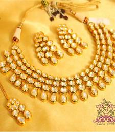 Kundan Glamourous Bridal Necklace shop online