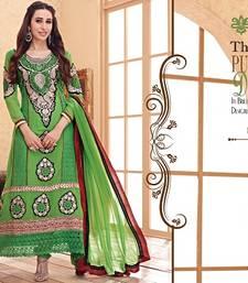 Buy KARISHMA KAPOOR AWESOME DESIGNER Straight Suit salwars-and-churidar online