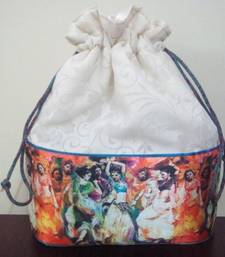 Buy DANCING DIVAS DIGITAL PRINT POTLI potli-bag online