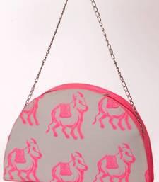 Buy THE PINK COW NEON PRINT HANDBAG handbag online