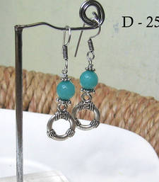 Buy Turquoise cute danglers gifts-for-girlfriend online