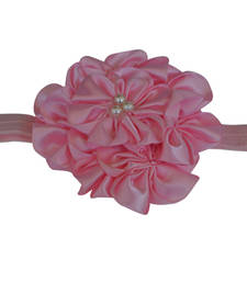 Buy Light pink 7 flower  baby Hairband hair-accessory online