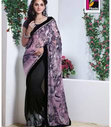 Buy Party Wear Cutpatch Art silk Saree art-silk-saree online