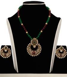 Buy Design no. 10b.2067....Rs. 2650 necklace-set online