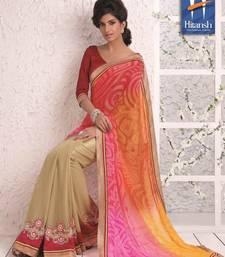 Buy half & half designer saree 4001. art-silk-saree online
