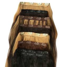 Buy 613 Clip ins Remy Bleached Stitched Human Hair 120 Grams 32 inches wig online
