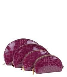 Buy Just Women - Set of 4 Purple Purse wallet online