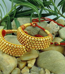 Buy Traditional Jaipur Jewellery Gold Beads bajubandh Bracelet bajuband online
