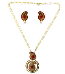 Buy Red Spinel necklace-sets necklace-set online