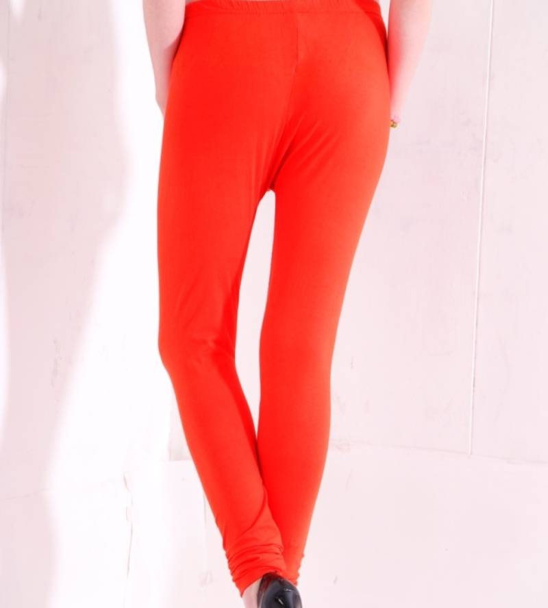 Buy dee fashion house orange cotton lycra legging online for Housse lycra