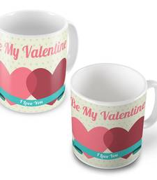 Buy Be My Valentine Lovely Designer Coffee Mugs Pair other-home-accessory online