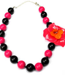 Buy Colourful beads necklace  Necklace online