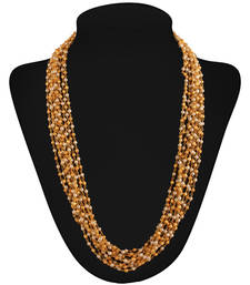 Buy Must have Gold plated contemporary Necklace Necklace online