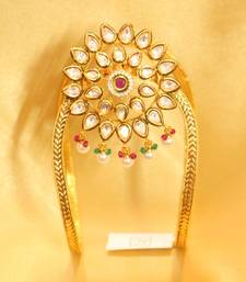Buy Kundan Meenakari Beautiful Bajuband bajuband online