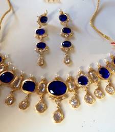 Buy Multicolor polki necklace-sets punjabi-jewellery online