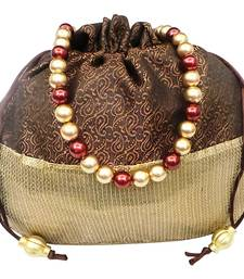 Buy Sequin Bottom Brocade Potli potli-bag online