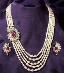 Buy Design no. 12.1387....Rs. 4500 necklace-set online