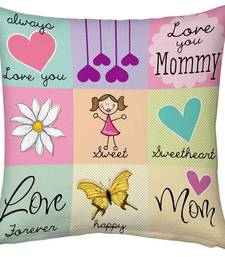 Buy Love You Mother Printed Designer Cushion Cute Gift gifts-for-mom online